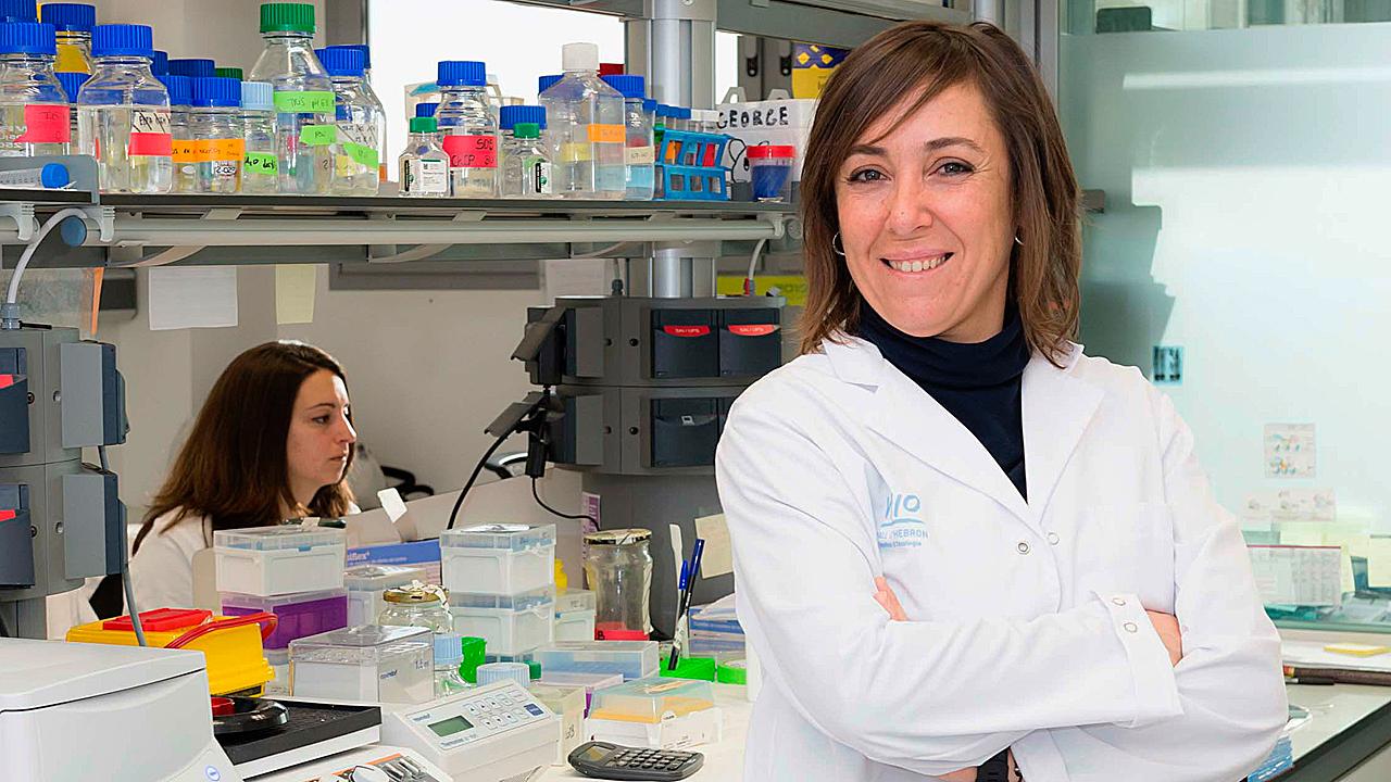 Sandra Peiró, del Grupo de Dinámica de la Cromatina en Cáncer del Vall d'Hebron Instituto de Oncología.
