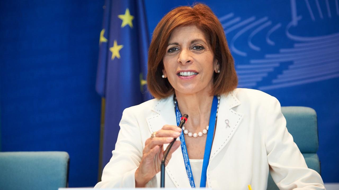 La comisaria europea de Salud, Stella Kyriakides.