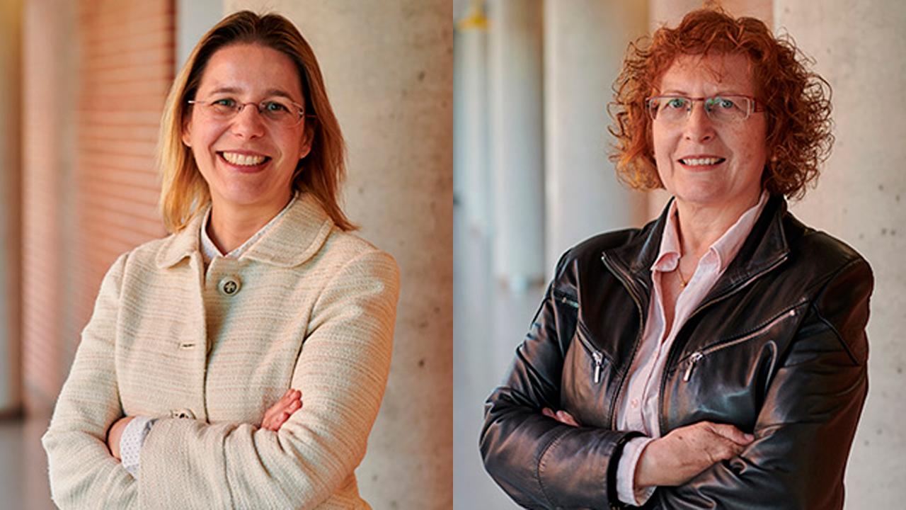 Laura Herrero y Dolors Serra, Investigadores del Ciberobn, adscritos al Instituto de Biomedicina de la Universidad de Barcelona (IBUB).