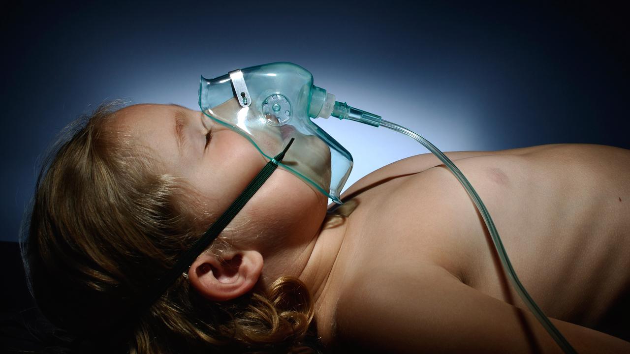 La microbiota respiratoria media en las infecciones de los niños.