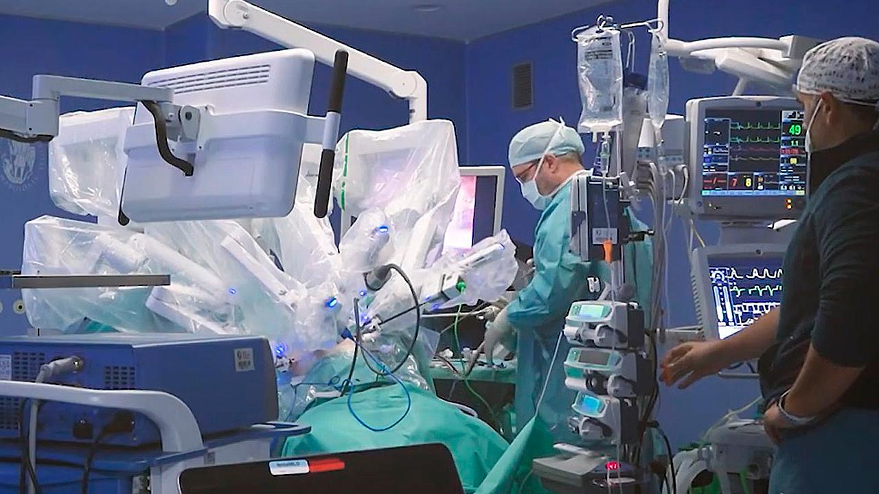 caspias piopsia prostática en trabajos de hospital de día