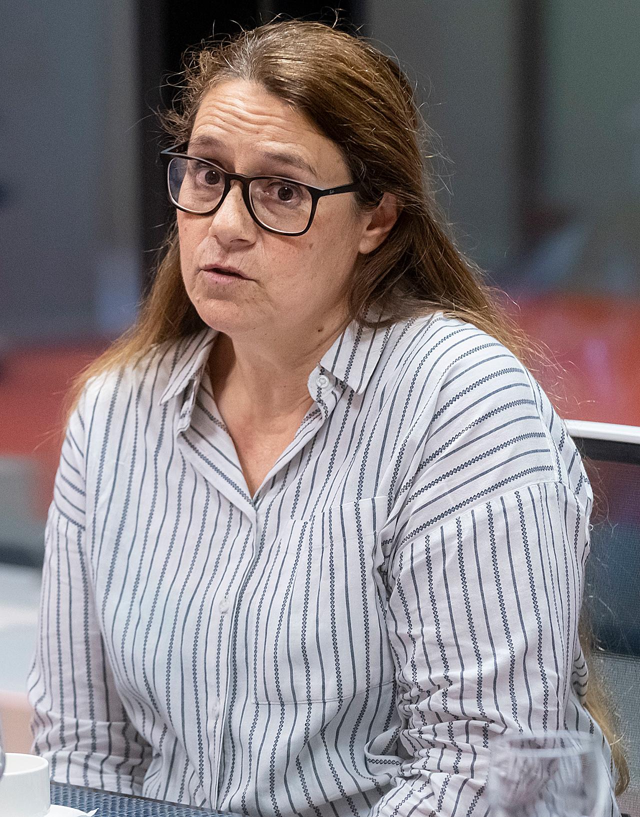 Belén León, portavoz de la Fundación Alzheimer España.