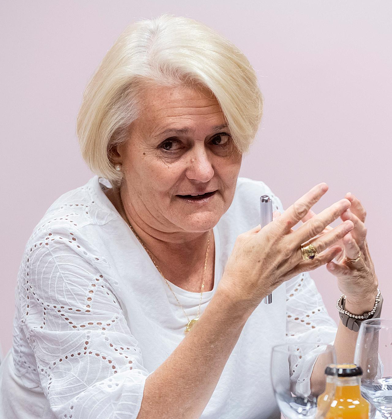 Julia Álvarez, jefe de la Sección de Endocrinolog�a y Nutrición Cl�nica del Hospital Universitario Pr�ncipe de Asturias, de Alcalá de Henares (Madrid).