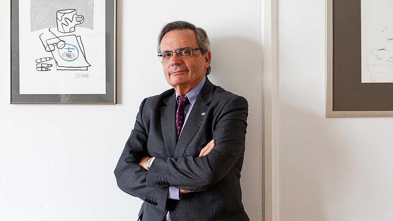 Rafael Matesanz, ex director de la Organización Nacional de Trasplantes (ONT).