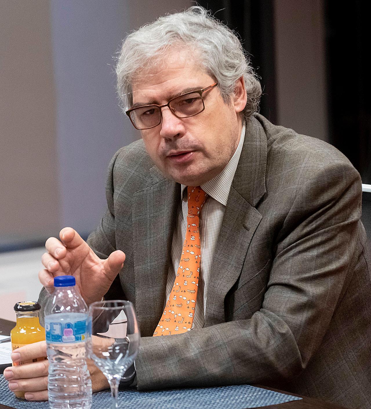 Raimundo Gutiérrez Fonseca, jefe del Servicio de Otorrinolaringolog�a del Hospital Universitario Rey Juan Carlos, de Móstoles (Madrid).