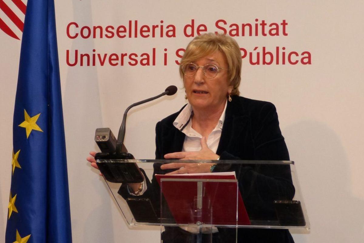 La consejera de Sanidad de Valencia, Ana Barceló.