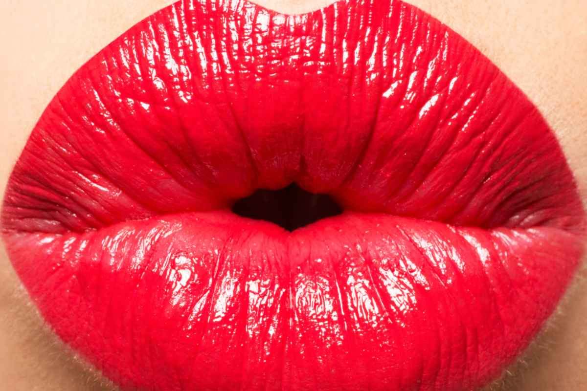 Labios pintados