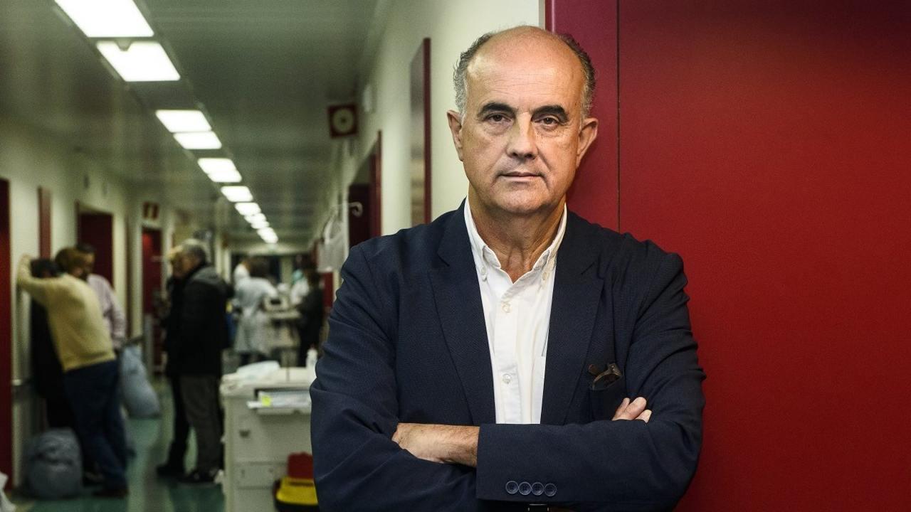 Antonio Zapatero, director del hospital de campaña de IFEMA.