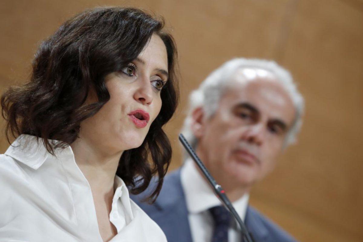 La presidenta regional, Isabel Díaz Ayuso, había anunciado esta medida como refuerzo para la actividad asistencial de los centros.