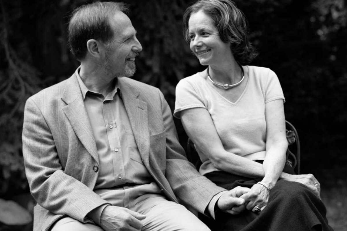Arthur Kleinman y su mujer, Joan.