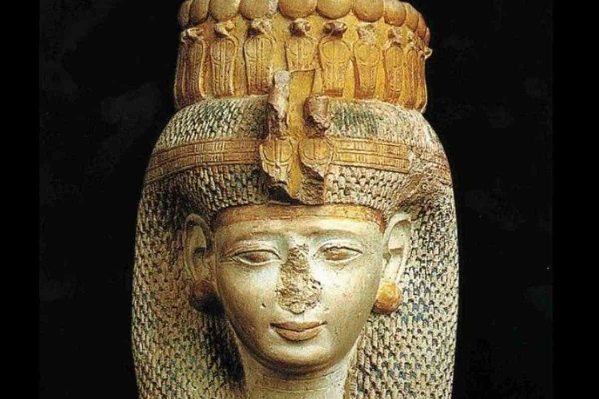 Busto egipcio de Merit