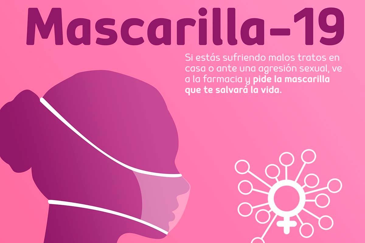 Cartel de la campaña en las farmacias de Canarias.