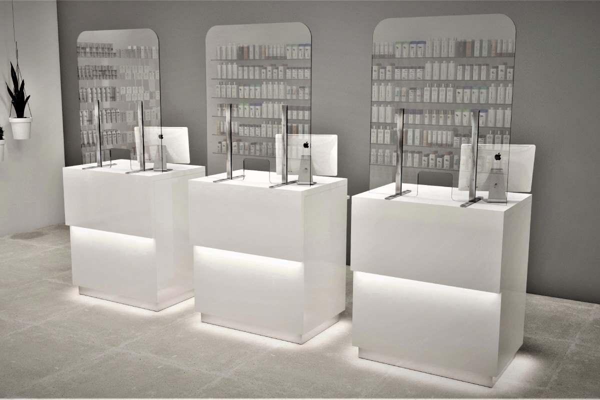 Mamparas de protección para la farmacia, de Inside Pharmacy