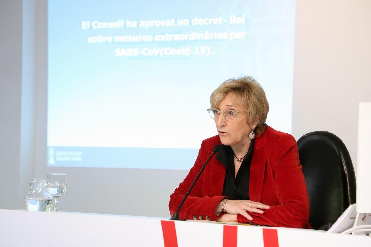 Ana Barceló, consejera de Sanidad de la Comunidad Valenciana.