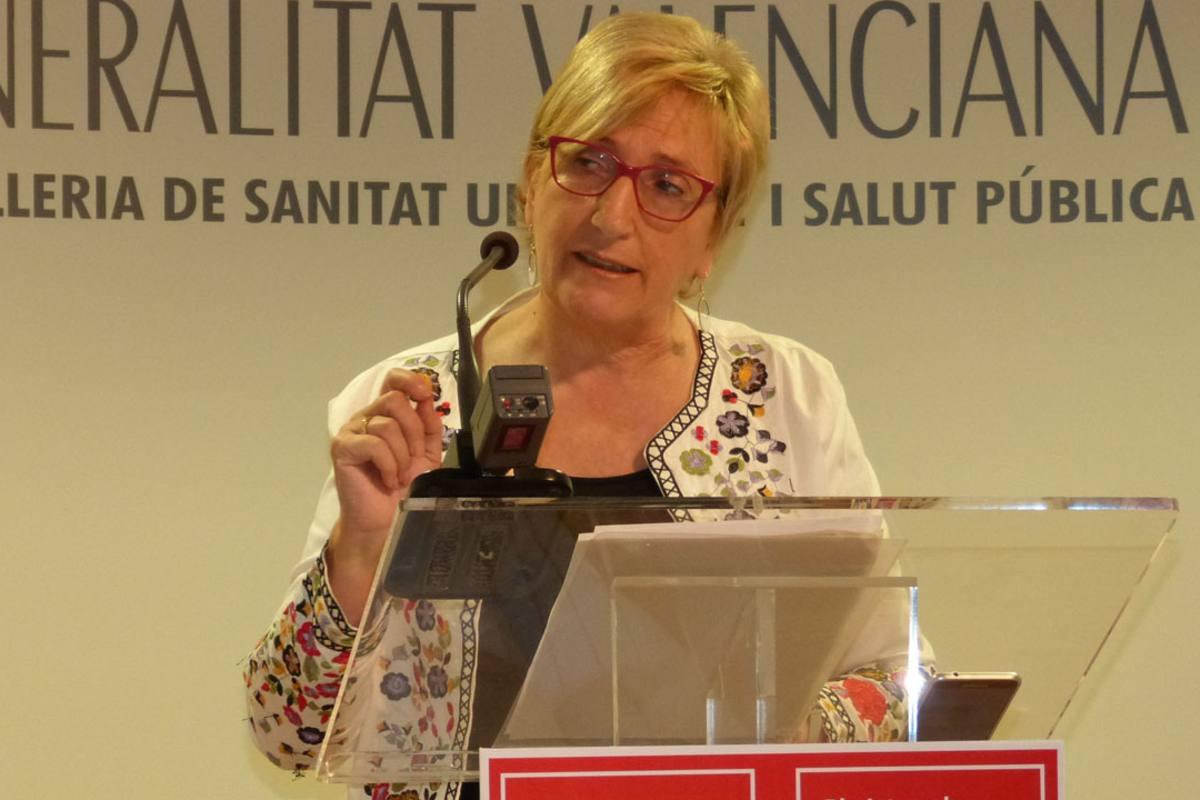 Ana Barceló, consejera de Sanidad de la Conunidad Valenciana