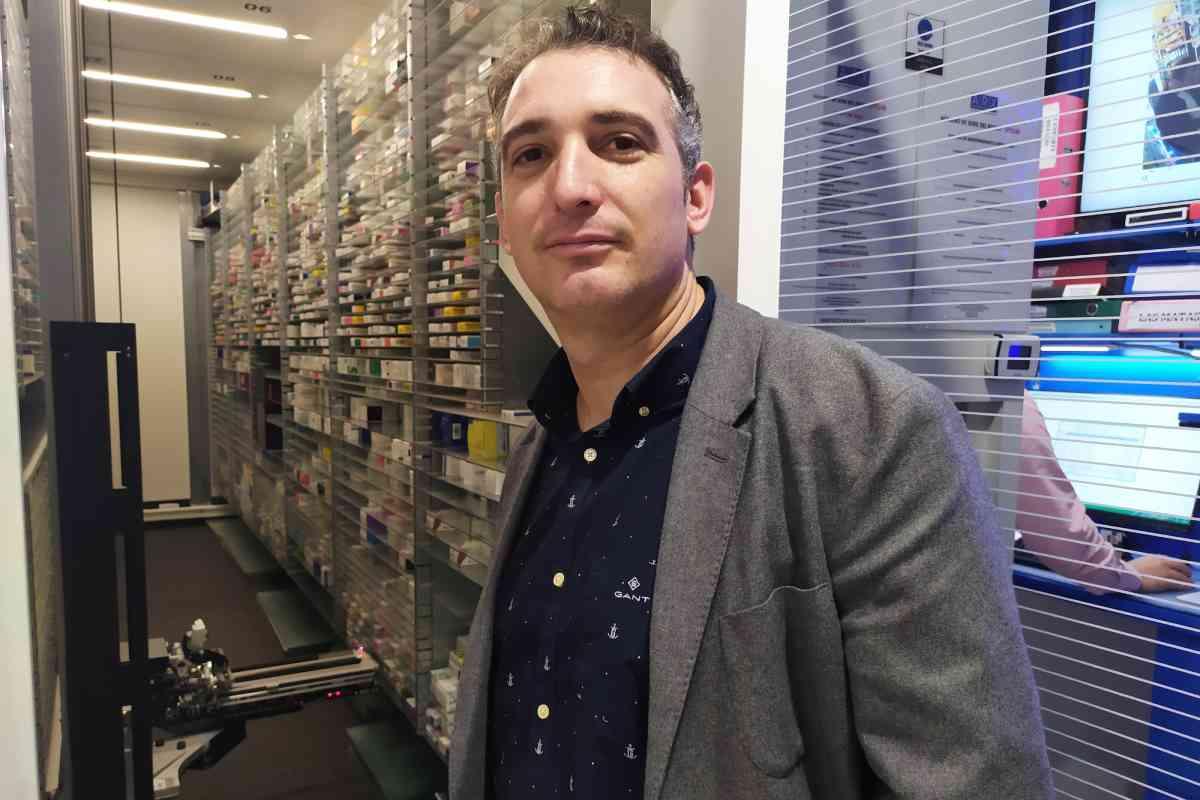 Asier Zubillaga, CEO de Farmadosis, explica que la alianza con Panasonic multiplicará por 10 la producción de la compañía.