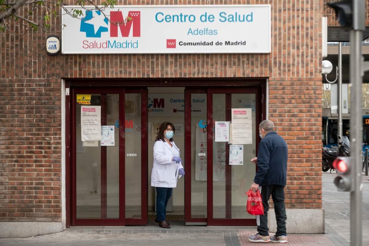 Centro de salud de Madrid durante la epidemia de coronavirus (José Luis Pindado)