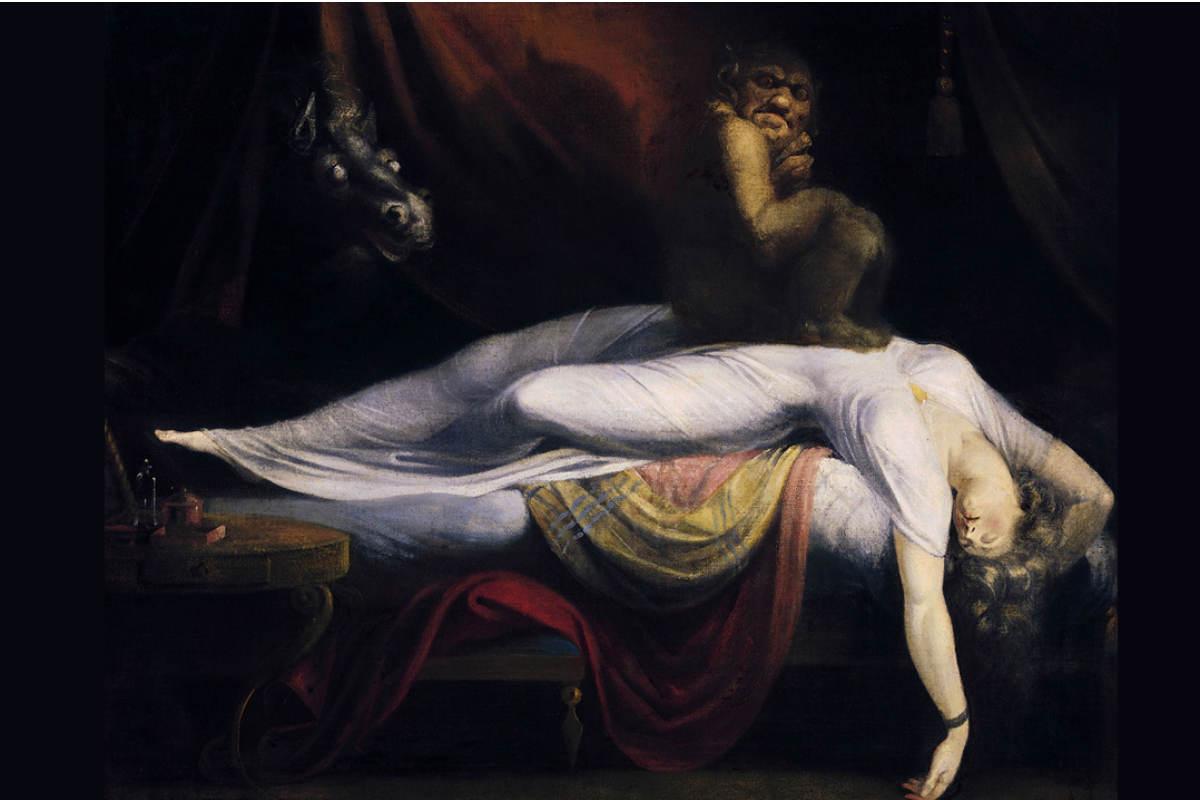 'La pesadilla', también conocido como 'El íncubo', es un cuadro del suizo Johann Heinrich Füssli.