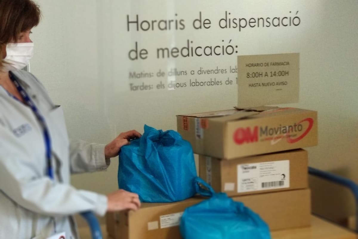 Los hospitales de Barcelona ya env�an medicación a las farmacias.