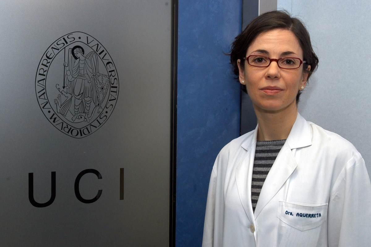 Irene Aquerreta, del Servicio de Farmacia de la Clínica Universidad de Navarra y farmacéutica de UCI.
