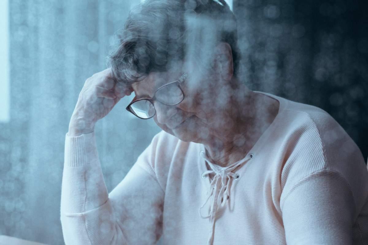 Mujer con emociones