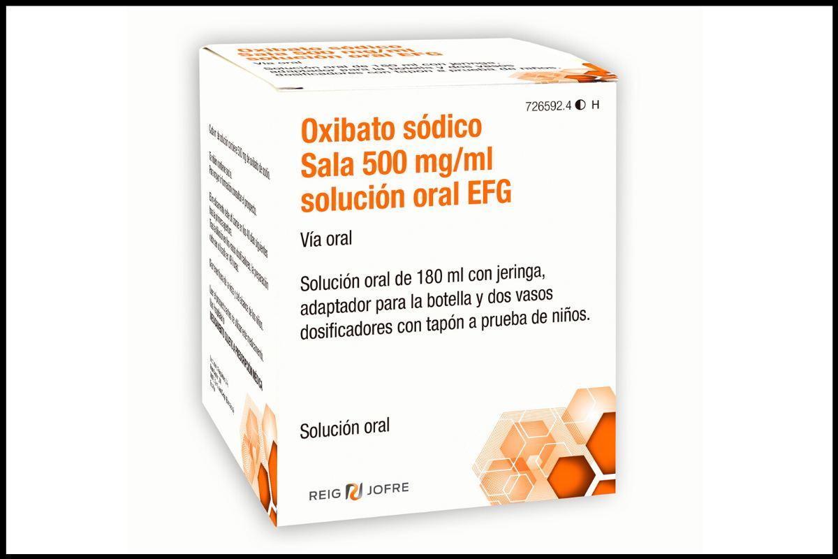 Reig Jofre comercializará 'Oxibato sódico Sala 500 mg/ml solución oral EFG'