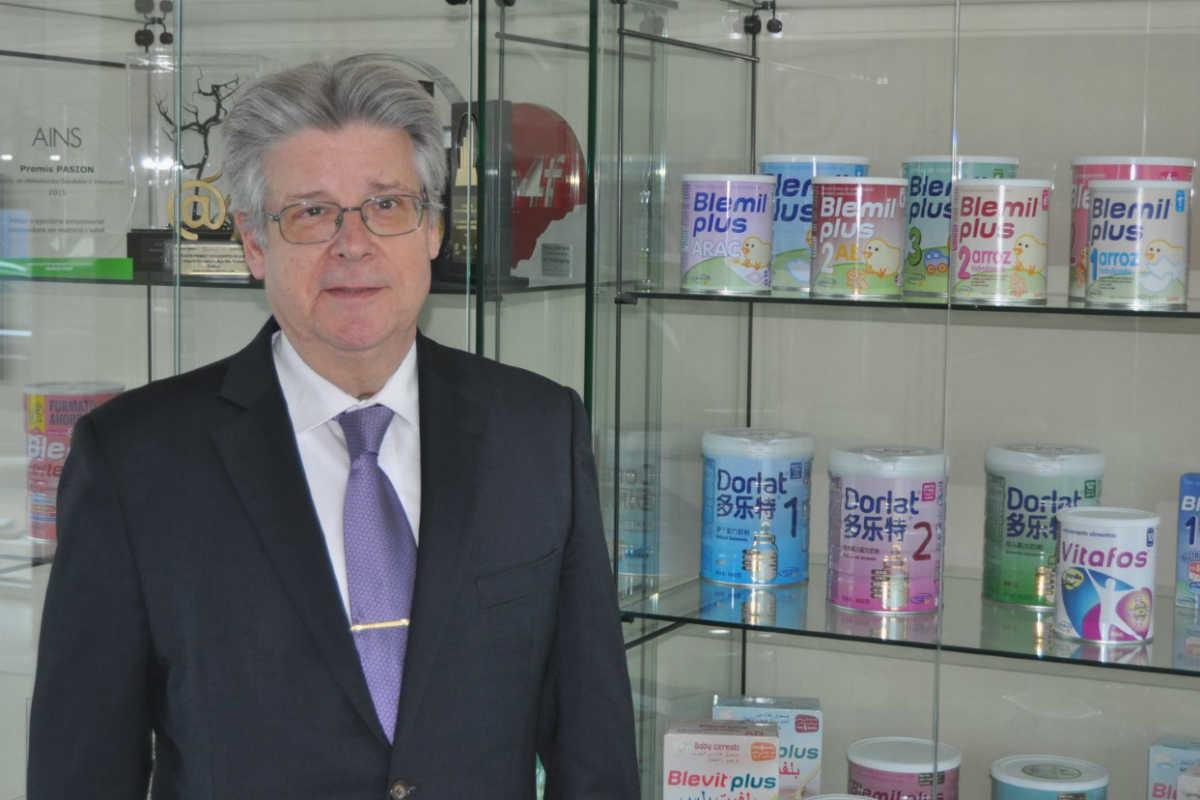 Joan Permanyer, presidente de Laboratorios Ordesa.