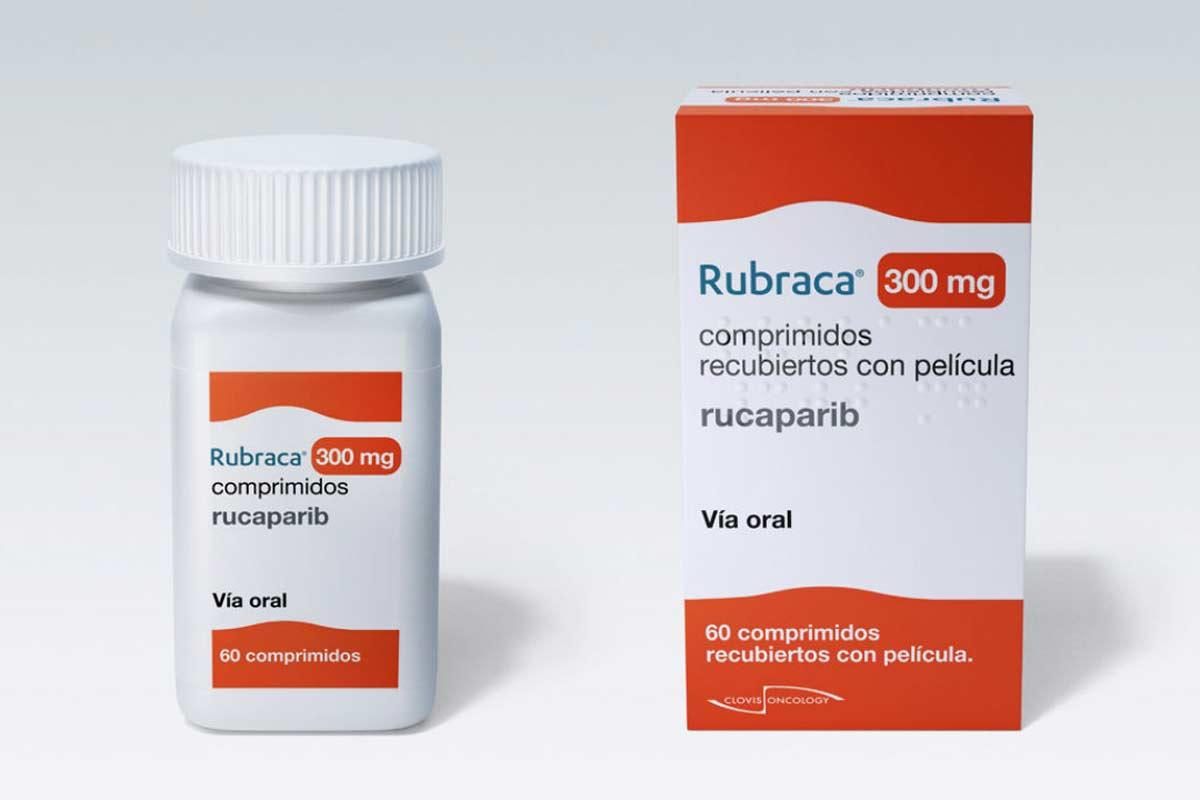 Rubraca es una molécula pequeña, oral, inhibidora de PARP-1, PARP-2 y PARP-3