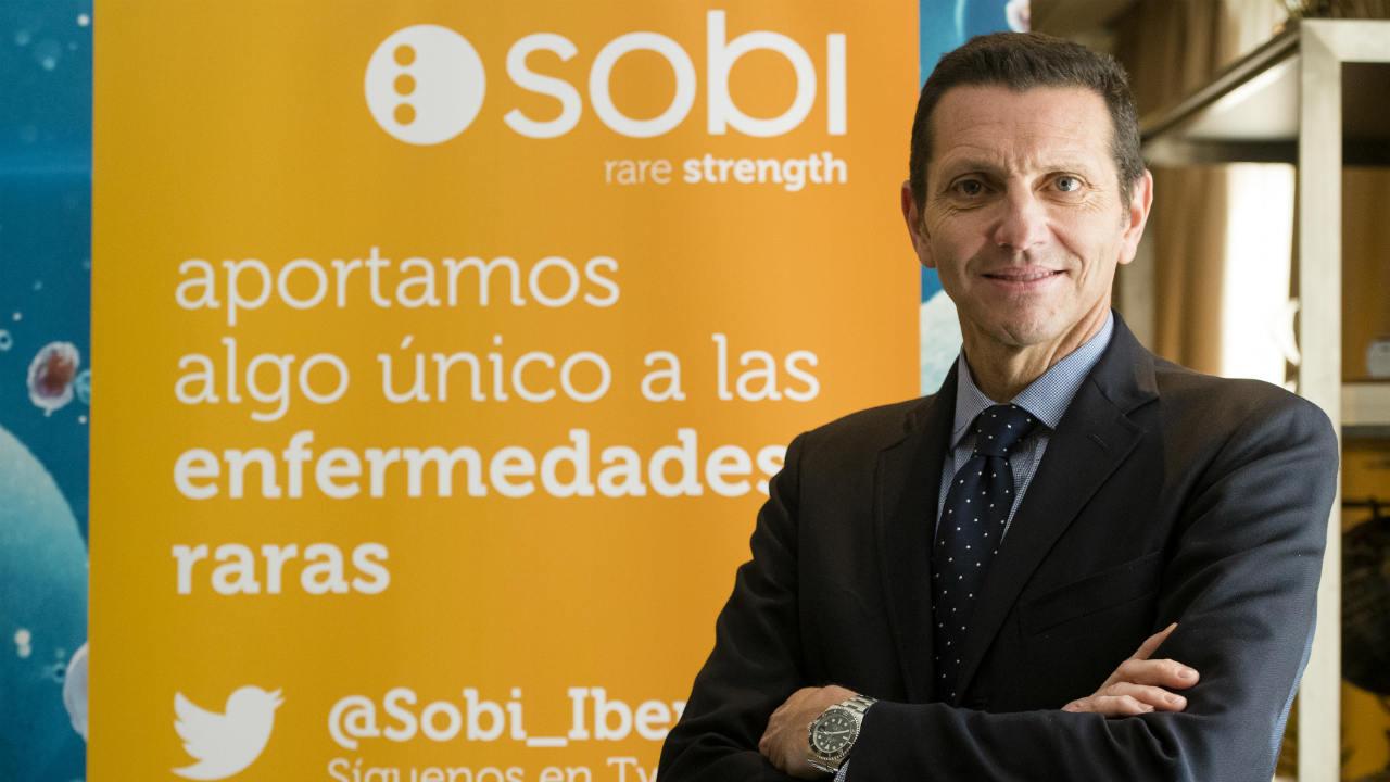 Pablo de Mora, director general de Sobi en España y Portugal.