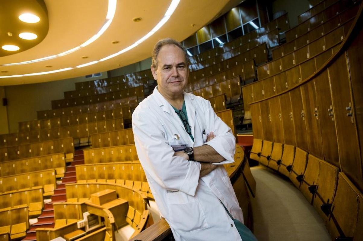 Damián García Olmo, jefe de Cirugía de la FJD.