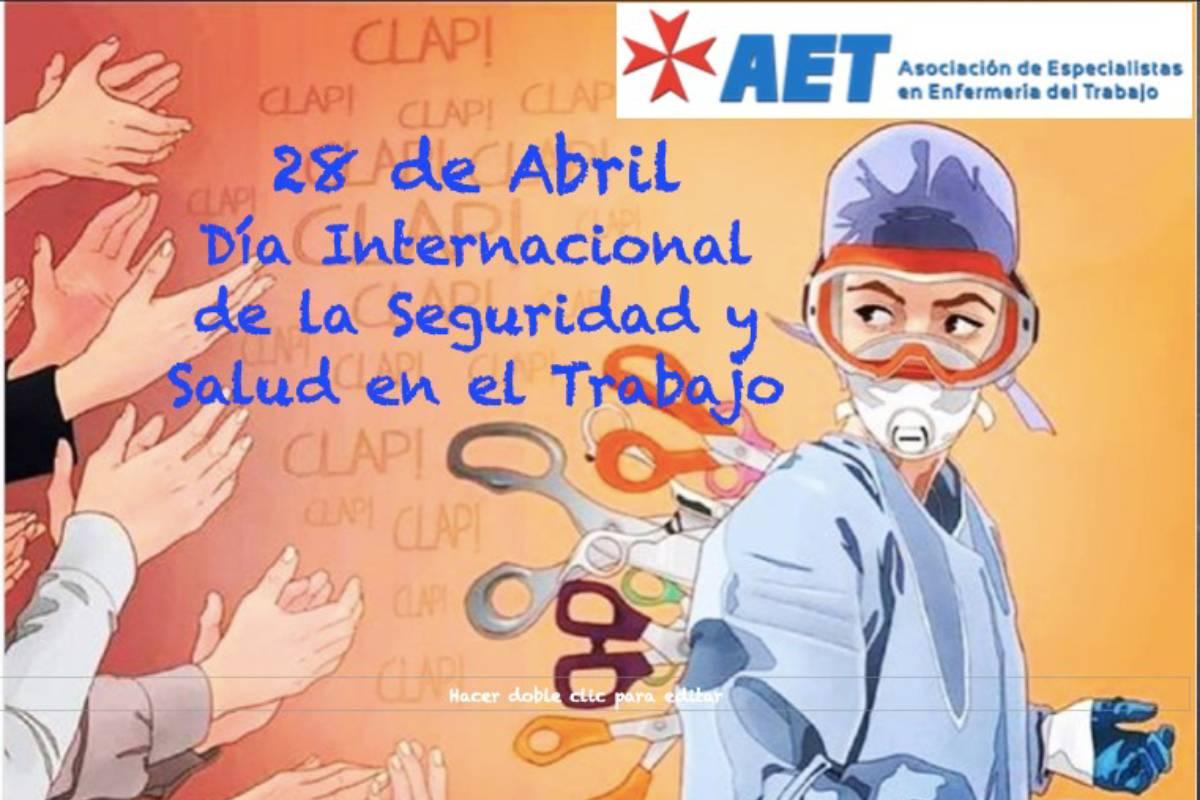 La pandemia del coronavirus ha dejado en evidencia la prevención de riesgos laborales y la seguridad y salud de los trabajadores, según la Asociación Especialistas en Enfermería del Trabajo (AET).