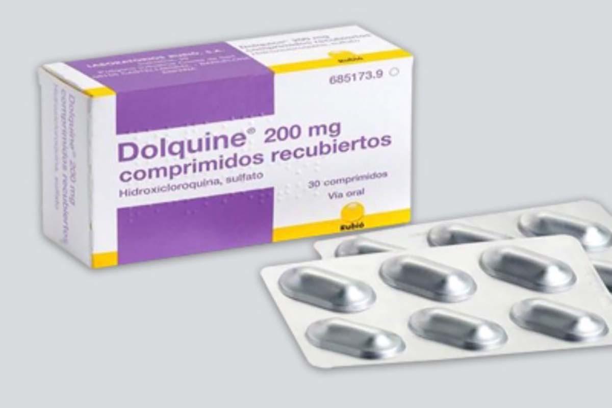 Laboratorios Rubió fabrica y comercializa 'Dolquine' (hidoxicloroquina sulfato).