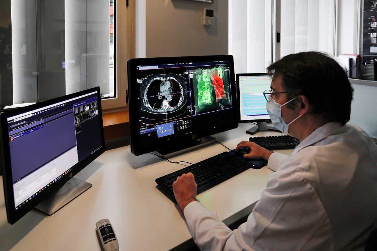 Gorka Bastarrika, codirector del Servicio de Radiolog�a de la Cl�nica Universidad de Navarra.