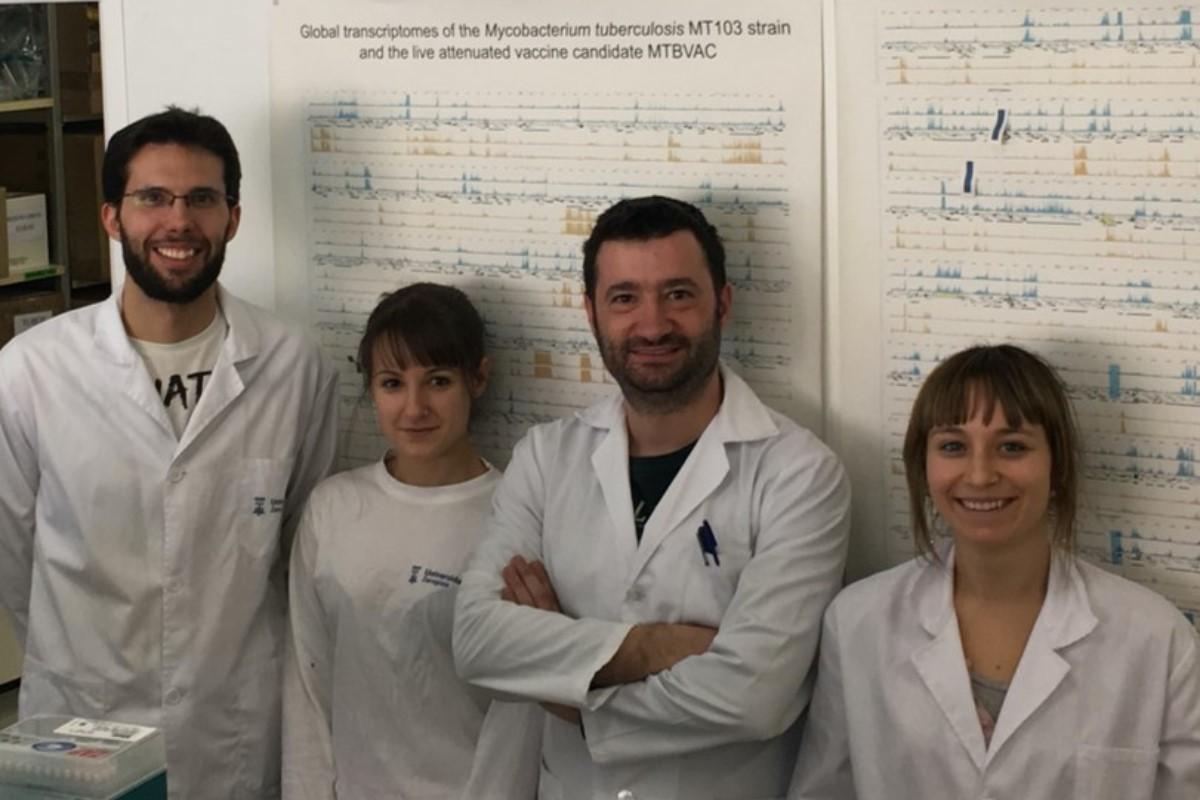 Grupo del CIBERES en la Universidad de Zaragoza