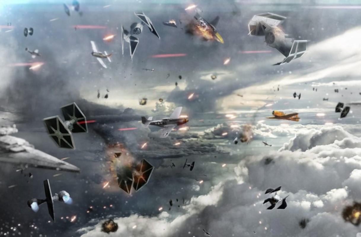 Batalla galáctica aérea