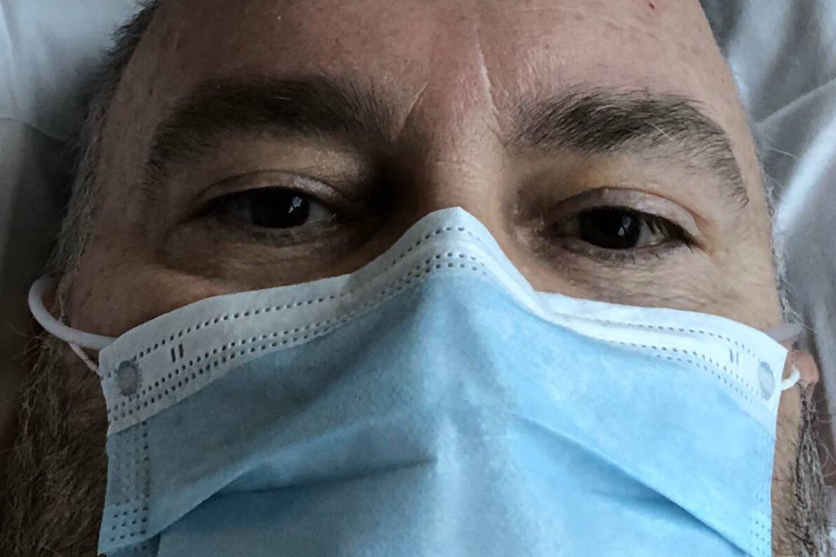 Pedro Alsina, farmacéutico de Sanofi que ha estado hospitalizado por coronavirus.