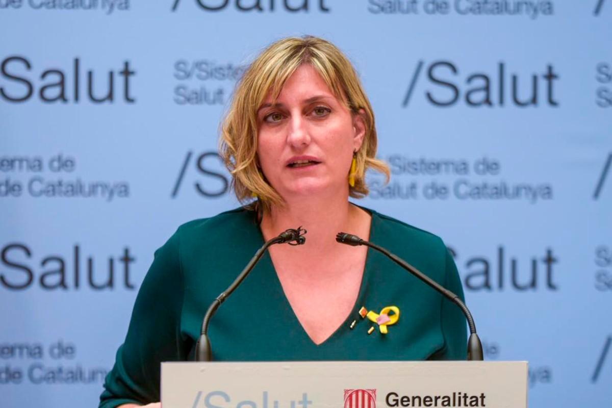 La consejera de Sanidad de Cataluña, Alba Vergés (Expansión)