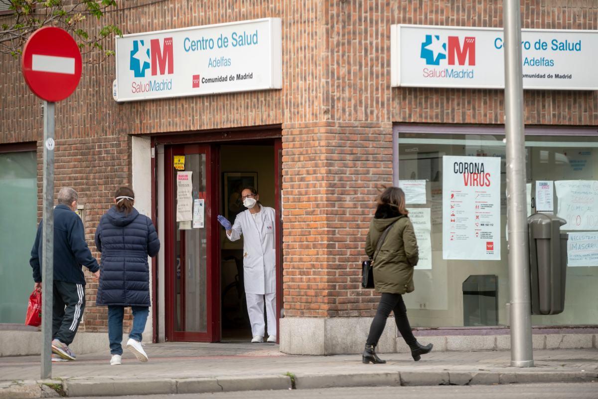 Un centro de salud de Madrid durante la epidemia de coronavirus (José Luis Pindado)