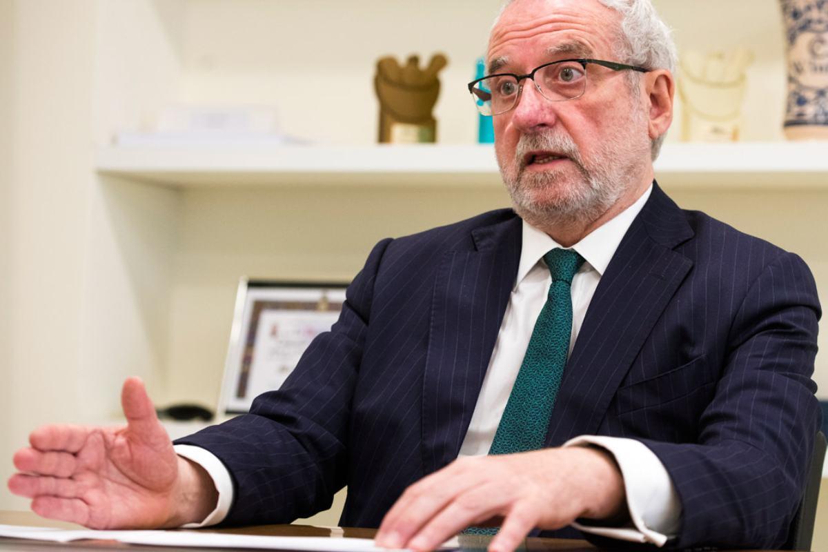 Eladio González Miñor, presidente de Fedifar.