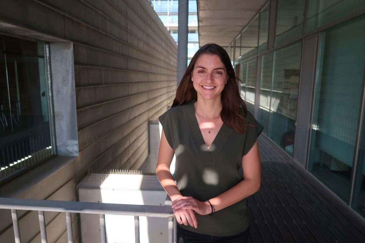 Florence Gignac, investigadora de ISGlobal y primera autora del estudio