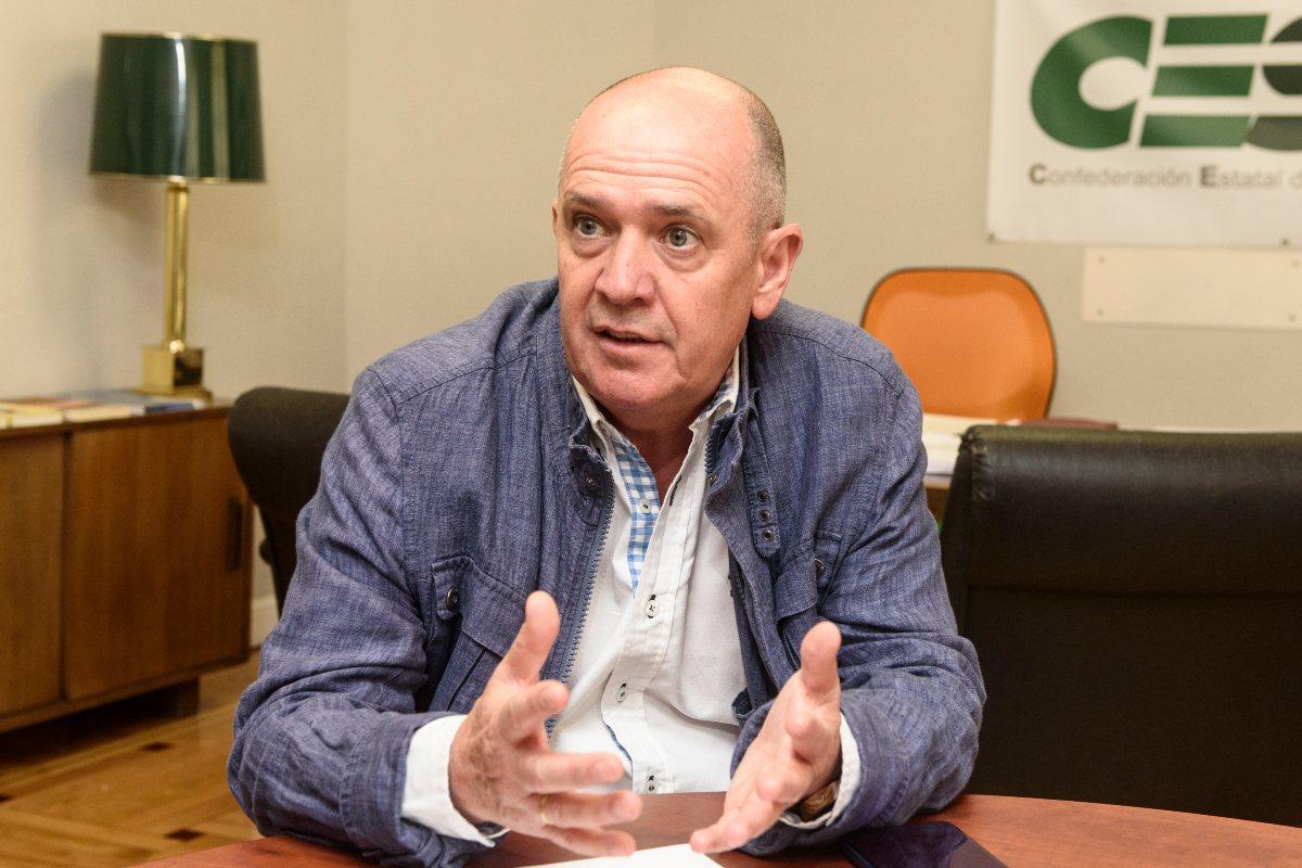 Gabriel Del Pozo, secretario general de CESM (Luis Camacho)