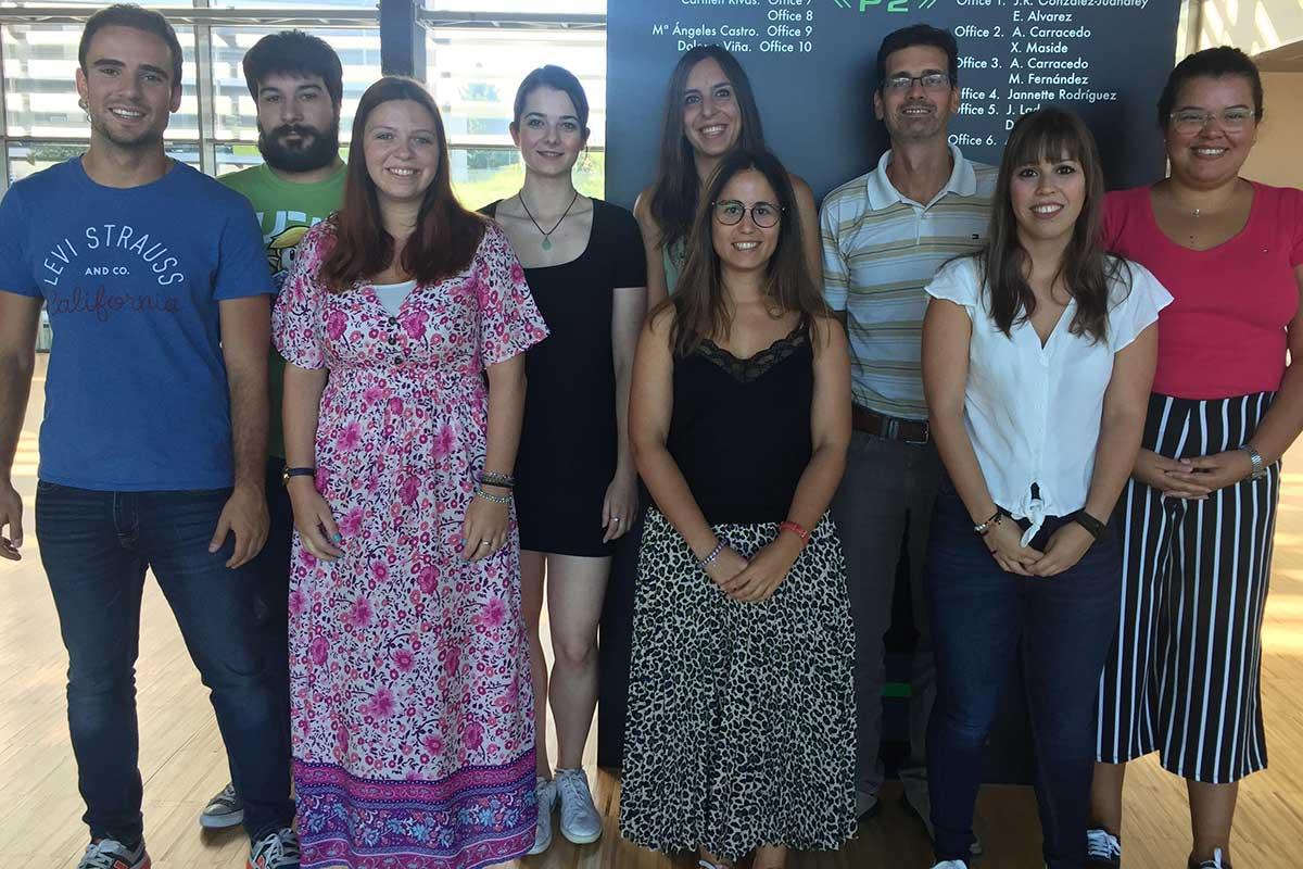 Grupo del Ciberobn y del Cimus de la Universidad de Santiago de Compostela