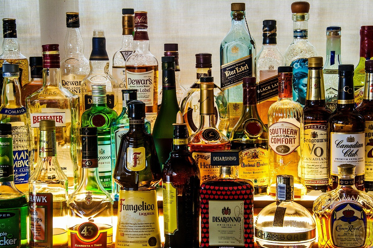Amplio surtido de bebidas alcohólicas