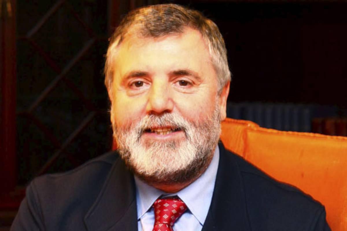 Luciano Vidán, presidente del Colegio de Médicos de La Coruña.