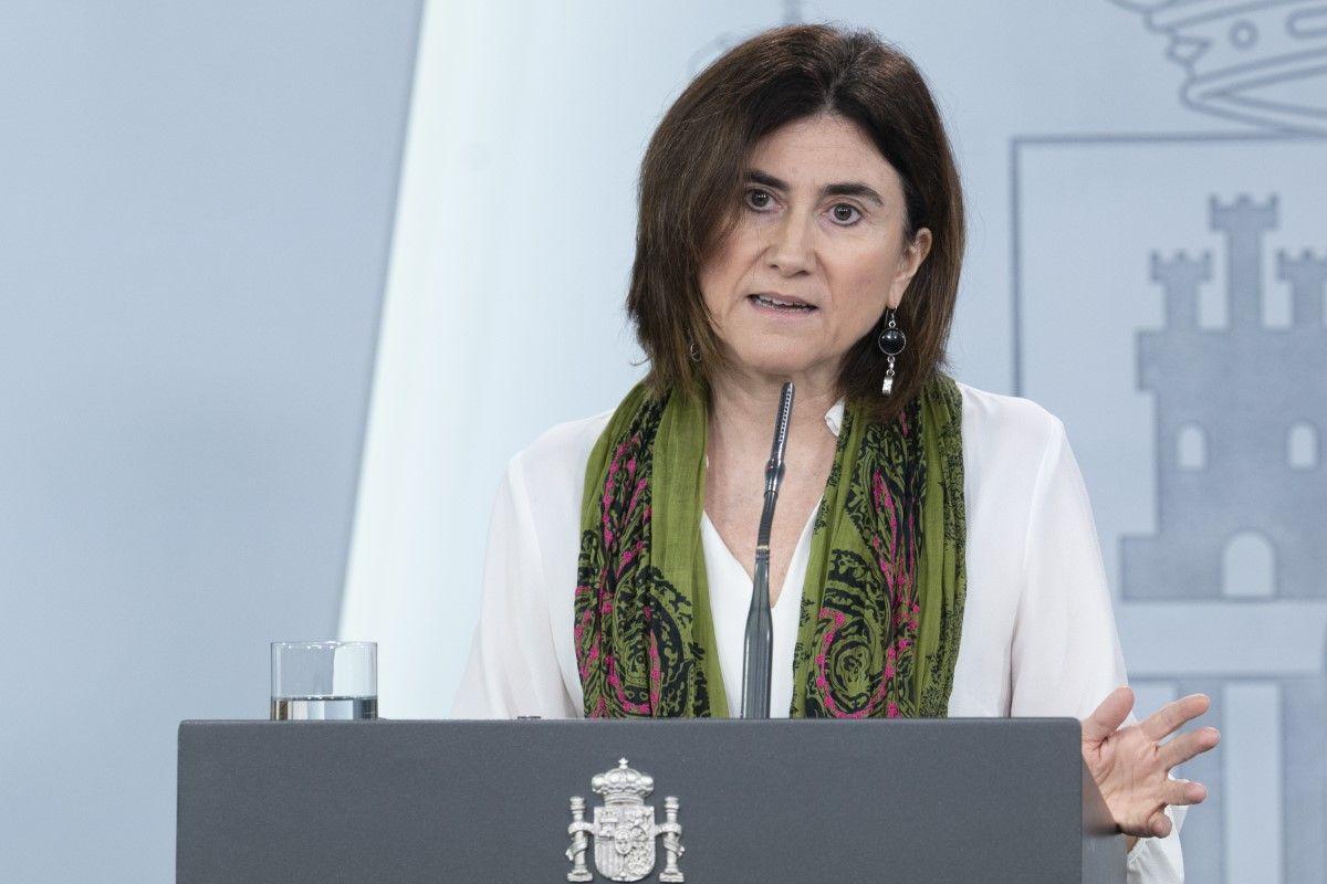 María José Sierra, jefa de área de Alertas y Emergencias Sanitarias.