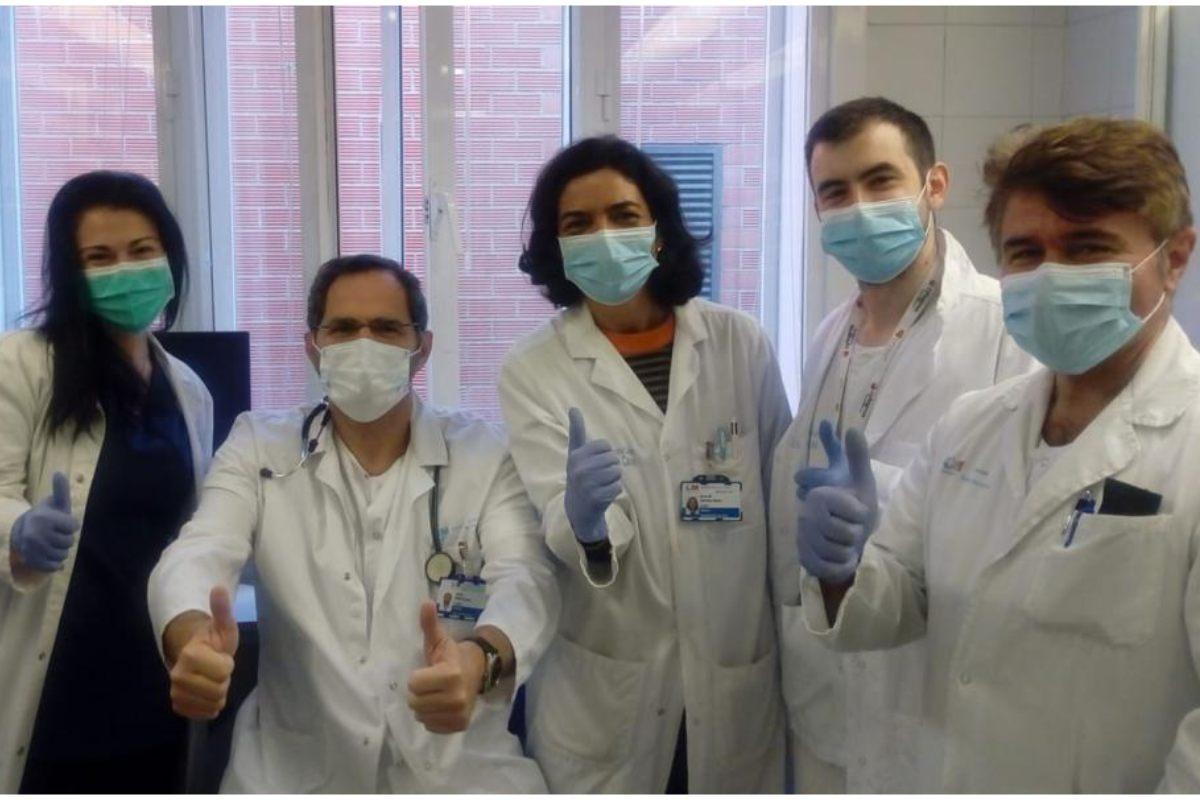 El equipo del Hospital Clínico de Madrid responsable del nuevo proyecto.