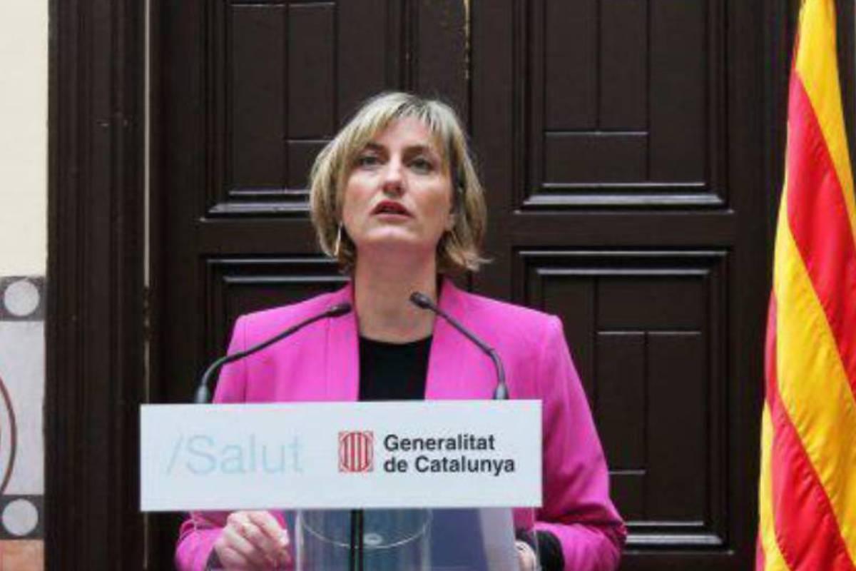 La consejera de Salud, Alba Verges.