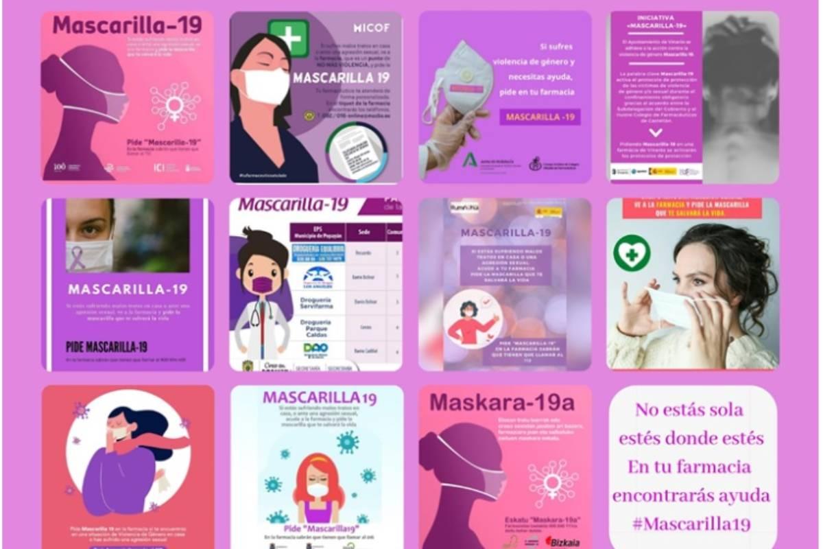 La campaña 'Mascarilla 19' se ha exportado de Canarias al resto de España y de países.