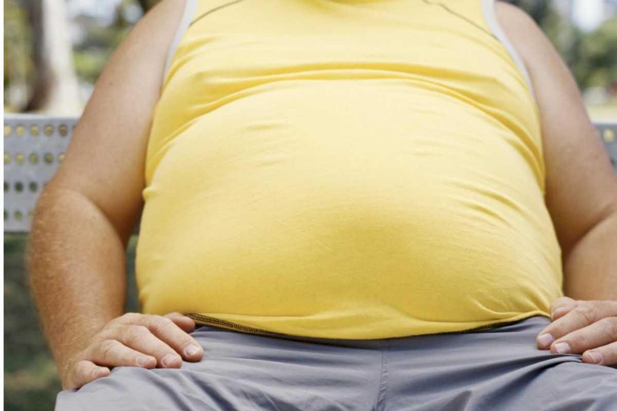 Persona obesa.