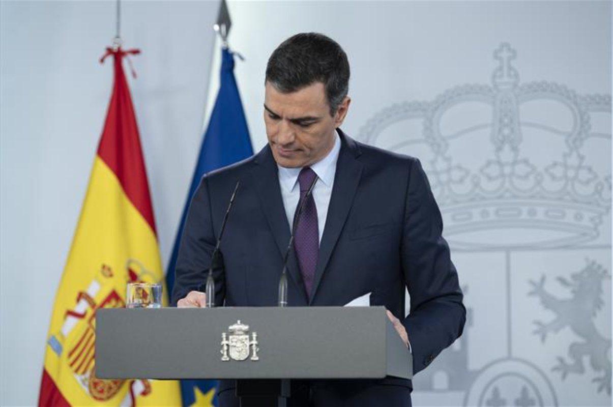 El presidente del Gobierno, Pedro Sánchez, ha respondido a las preguntas de Diario Médico en su comparecencia de hoy.